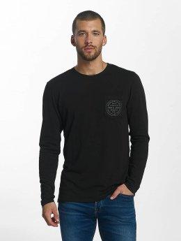 Jack & Jones T-Shirt manches longues jorTap noir