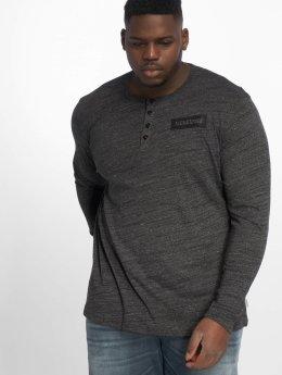 Jack & Jones T-Shirt manches longues jcoAnton noir