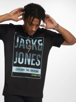 Jack & Jones T-shirt jcoLines nero