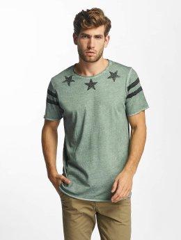 Jack & Jones t-shirt jorFlags olijfgroen