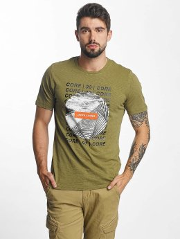 Jack & Jones t-shirt jcoTreble olijfgroen