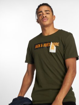 Jack & Jones T-shirt jcoPossible oliv