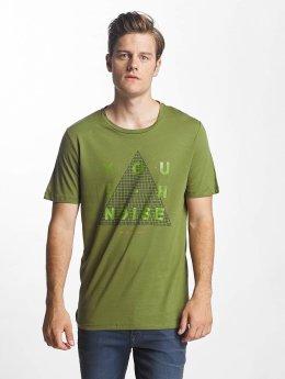 Jack & Jones T-Shirt jcoGrid olive
