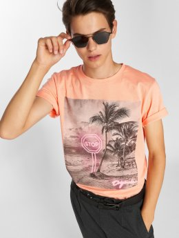 Jack & Jones t-shirt jorPen Crew Neck oranje