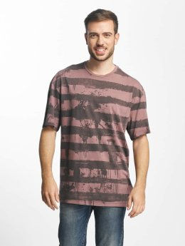 Jack & Jones t-shirt jorNumbat rood