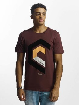 Jack & Jones t-shirt jcoMullet rood