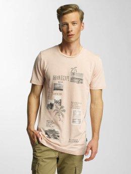 Jack & Jones T-Shirt jorRock rosa