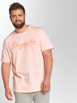 Jack & Jones T-shirt jorFlurosloth rosa