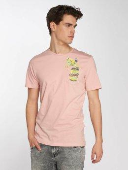 Jack & Jones T-Shirt jorCube rosa