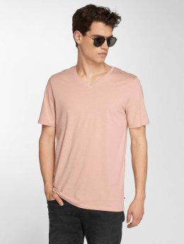Jack & Jones T-Shirt jjePlain rosa