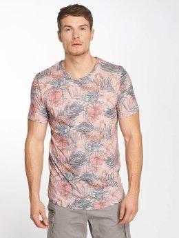 Jack & Jones T-Shirt jorFloras rosa
