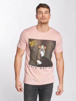 Jack & Jones T-Shirt jorCityyouthline Crew Neck rose