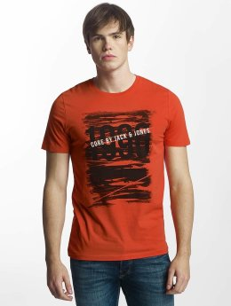 Jack & Jones T-Shirt jcoProfile rot