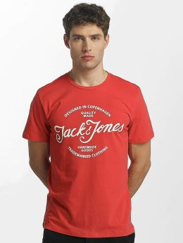 Jack & Jones T-Shirt jorNewraffa rot