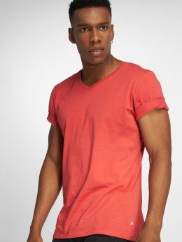 Jack & Jones T-Shirt jjePlain rot