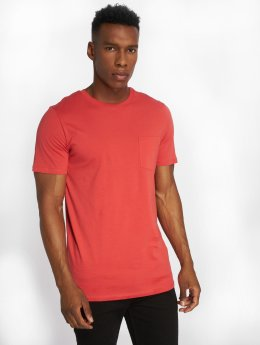 Jack & Jones T-Shirt jjePocket rot