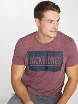 Jack & Jones T-Shirt jcoAlexis rot