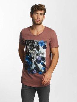 Jack & Jones T-Shirt jorEdge rouge