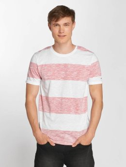 Jack & Jones T-Shirt jcoStripy rouge