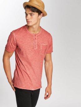 Jack & Jones T-Shirt jorCali Granddad rouge