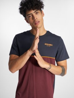 Jack & Jones T-Shirt jcoPiping rouge
