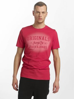 Jack & Jones T-Shirt jorStencild rouge