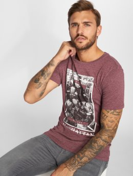 Jack & Jones T-Shirt Jorcitynew rouge
