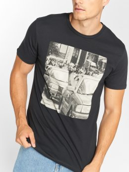 Jack & Jones T-Shirt jorVirtual schwarz