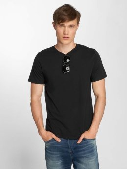 Jack & Jones T-Shirt jjePlain schwarz