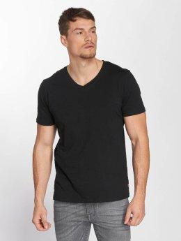 Jack & Jones T-Shirt jjePlain schwarz