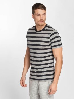 Jack & Jones T-Shirt jjeStripe schwarz