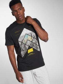Jack & Jones T-Shirt jcoAutumn Feeling schwarz