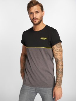 Jack & Jones T-Shirt jcoPiping schwarz
