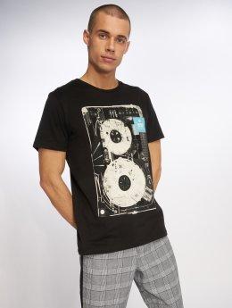 Jack & Jones T-Shirt jcoDatas schwarz