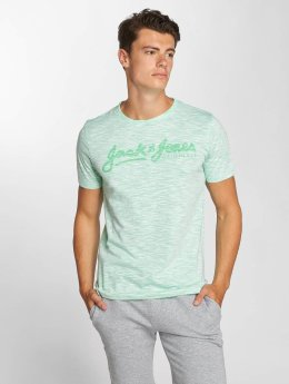 Jack & Jones t-shirt jorFlurosloth turquois