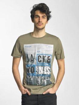 Jack & Jones T-Shirt jcoMoin vert