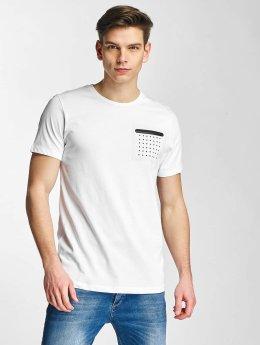 Jack & Jones T-Shirt jcoLinus weiß
