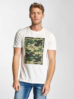 Jack & Jones T-Shirt jorSamuel weiß
