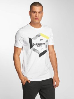 Jack & Jones T-Shirt jcoBoshof weiß