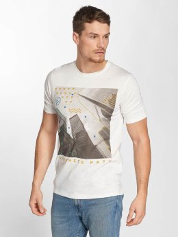 Jack & Jones T-Shirt jorCityyouthline Crew Neck weiß