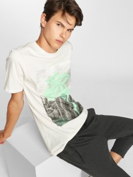 Jack & Jones T-Shirt jorPen Crew Neck weiß