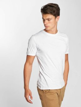 Jack & Jones T-Shirt jjePlain weiß