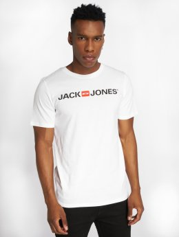 Jack & Jones T-Shirt jjeCorp Logo weiß
