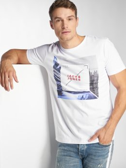 Jack & Jones T-Shirt jcoAutumn Feeling weiß