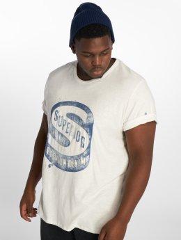 Jack & Jones Männer T-Shirt Jprhank in weiß