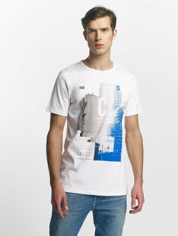 Jack & Jones t-shirt jcoBeat wit