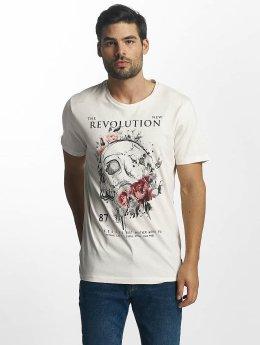 Jack & Jones t-shirt Scully wit