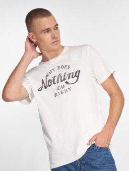 Jack & Jones t-shirt jorSmoky wit