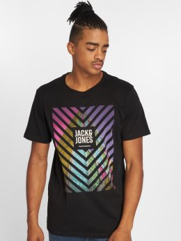 Jack & Jones t-shirt jcoPhil-Burke zwart