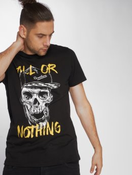 Jack & Jones t-shirt Jorfestskull zwart